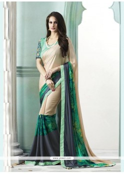Prepossessing Multi Colour Designer Saree