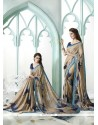 Dashing Georgette Multi Colour Designer Saree