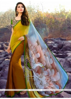 Prodigious Designer Saree For Festival