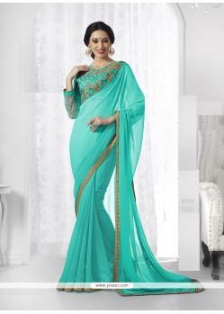 Fantastic Georgette Classic Designer Saree
