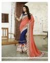 Mesmeric Navy Blue Classic Designer Saree