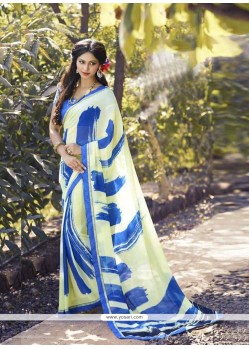 Staggering Georgette Casual Saree