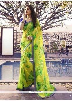 Trendy Georgette Casual Saree