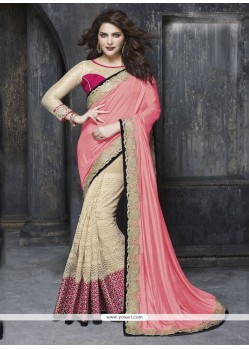 Dignified Art Silk Patch Border Work Classic Designer Saree