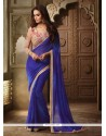 Lovable Embroidered Work Classic Designer Saree