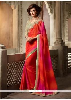 Aristocratic Embroidered Work Classic Designer Saree