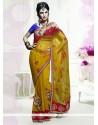 Capricious Embroidered Work Net Designer Saree