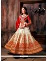 Imperial Patch Border Work Designer Floor Length Salwar Suit