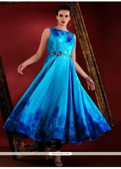 Resplendent Art Silk Designer Suit