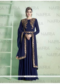 Gripping Embroidered Work Designer Suit