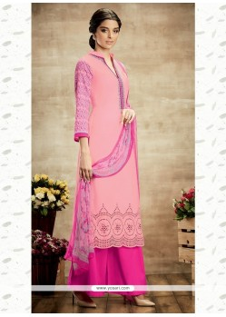 Renowned Pink Designer Suit
