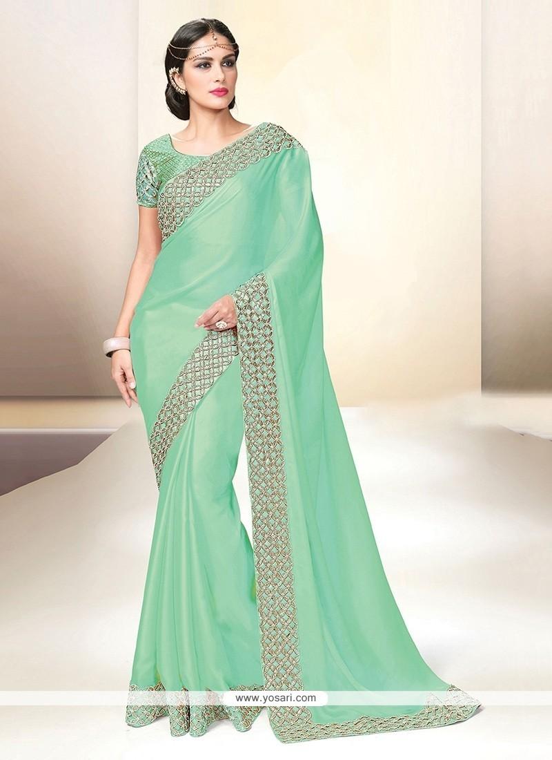 Lurid Classic Designer Saree For Wedding