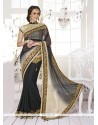 Sonorous Patch Border Work Classic Designer Saree