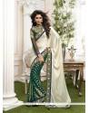 Dashing Viscose Green Classic Designer Saree