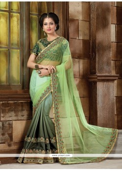 Impeccable Classic Designer Saree For Bridal