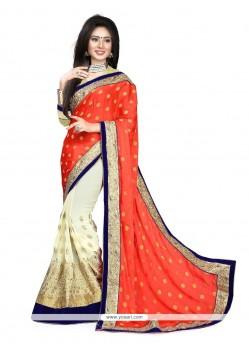 Beauteous Maroon Classic Designer Saree