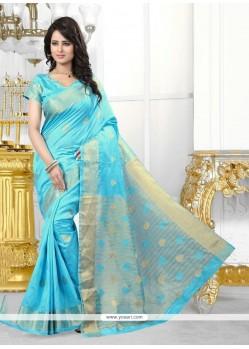 Strange Banarasi Silk Designer Saree