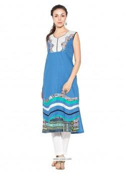 Capricious Cotton Party Wear Kurti