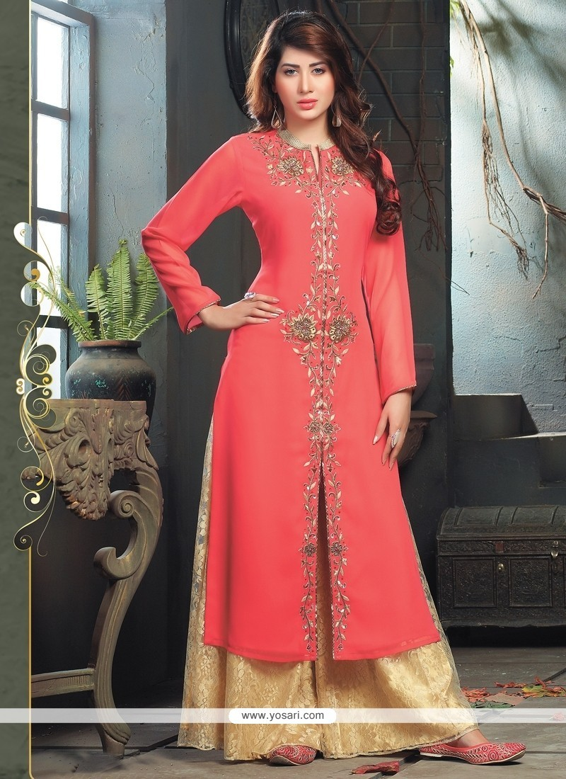 5cb1a09b7ea Shop online Fab Embroidered Work Party Wear Kurti