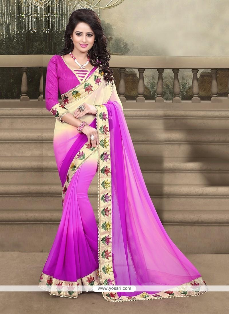 9ec66a0b57a Shop online Buy Dilettante Georgette Designer Saree Online   Indian ...