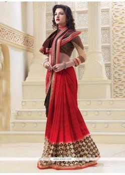 Royal Georgette Designer Saree