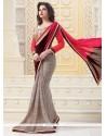 Extraordinary Georgette Designer Saree
