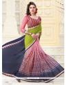 Exciting Patch Border Work Designer Saree