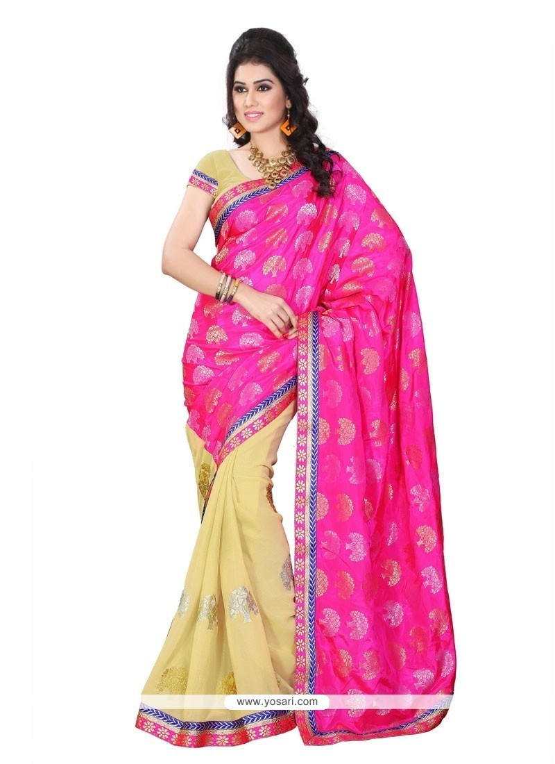 Intriguing Jacquard Designer Saree