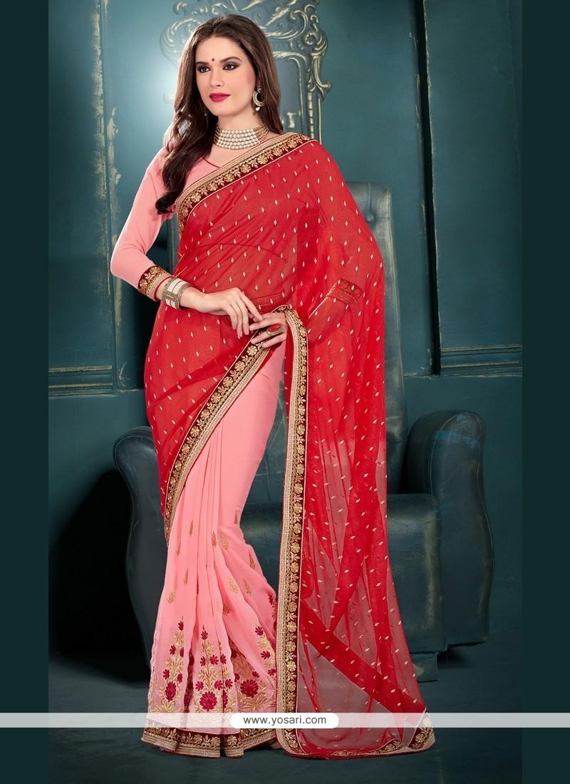 Attractive Designer Saree For Festival
