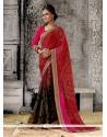 Modern Georgette Multi Colour Designer Saree