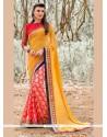 Ravishing Patch Border Work Designer Saree