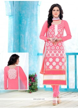 Glorious Cotton Churidar Designer Suit
