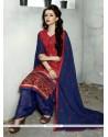 Marvelous Red Trendy Punjabi patiala Suits