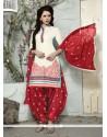 Mystic Off White Trendy Punjabi patiala Suits