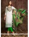 Thrilling Cotton Off White Designer Suit
