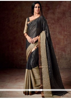 Trendy Patch Border Work Casual Saree