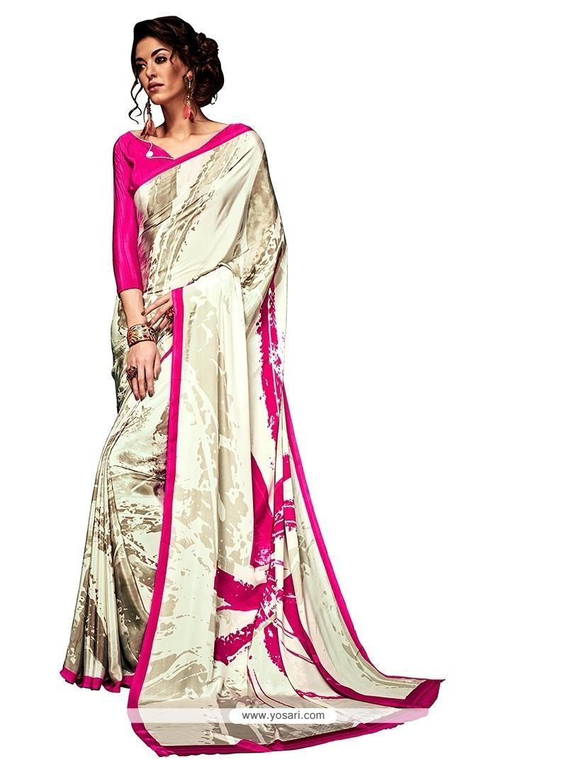 Lavish Casual Saree For Party