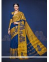 Classy Handloom Silk Designer Saree
