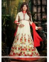 Ayesha Takia Embroidered Work Anarkali Salwar Kameez