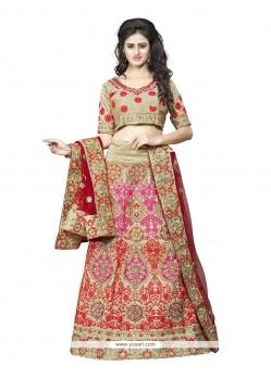 Stunning Silk A Line Lehenga Choli