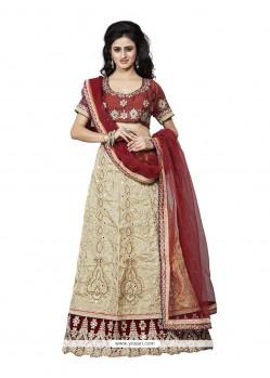 Vibrant A Line Lehenga Choli For Bridal