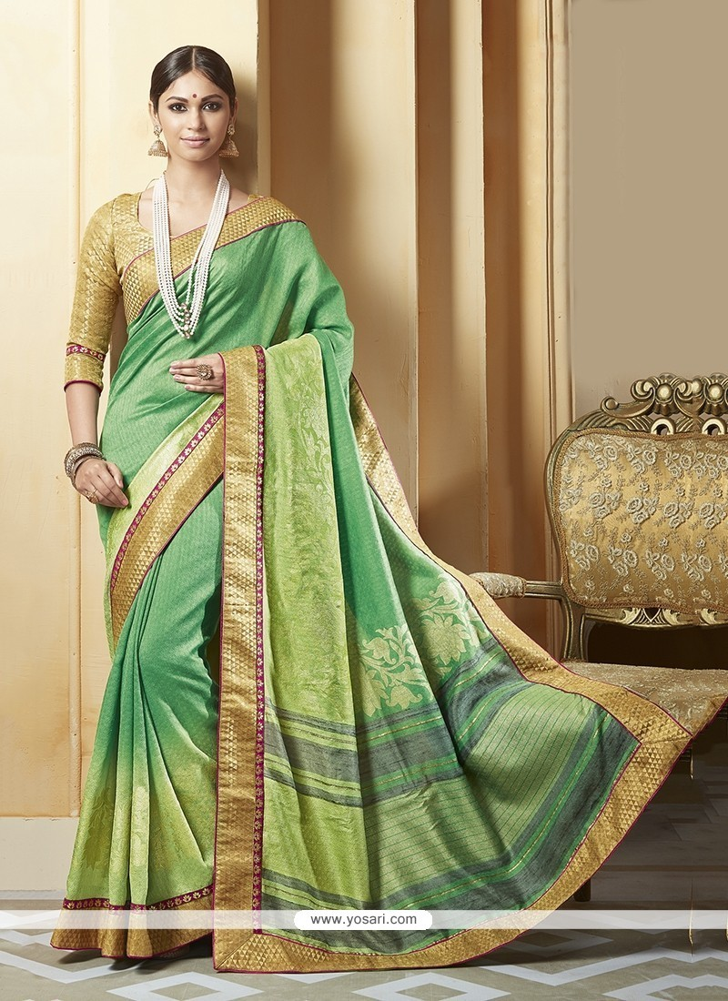 Impeccable Silk Printed Saree