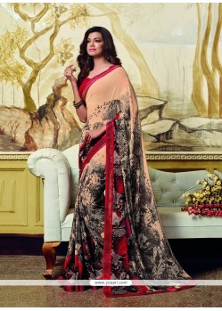 Princely Printed Saree For Party