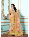 Gorgonize Tussar Silk Designer Saree