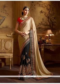 Radiant Black Classic Designer Saree