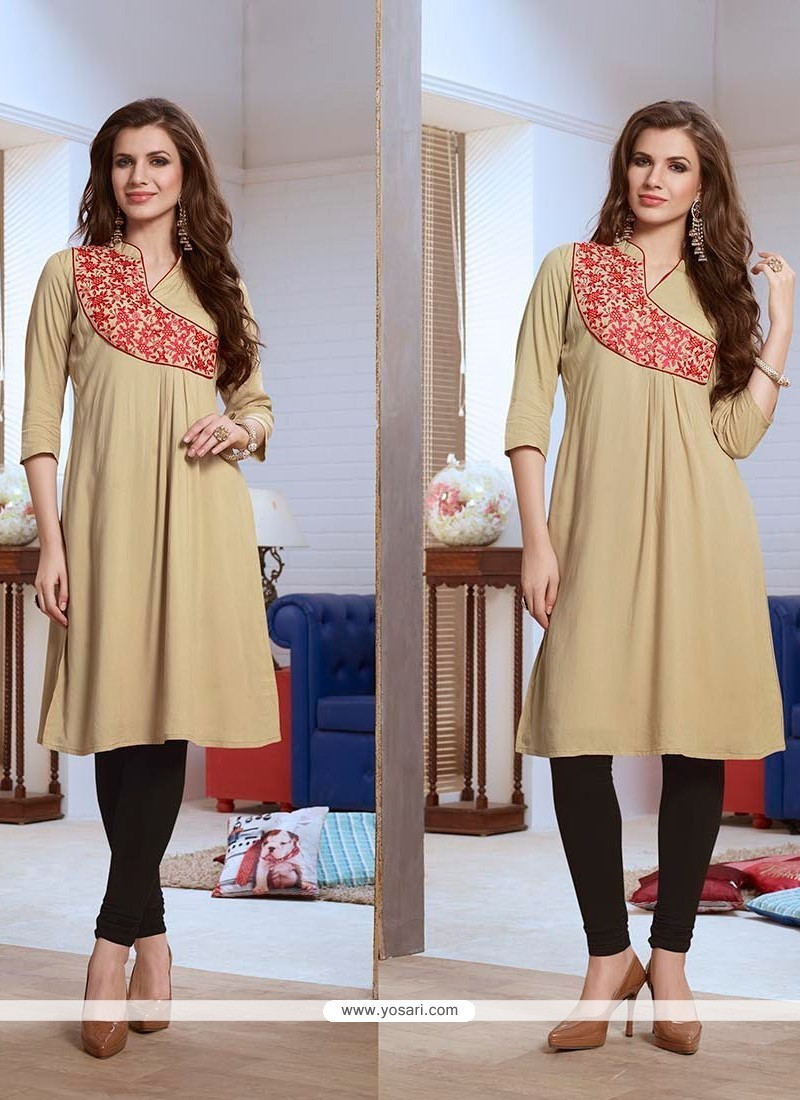 Exquisite Embroidered Work Party Wear Kurti