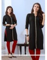 Energetic Embroidered Work Rayon Party Wear Kurti