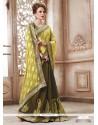 Modern Georgette Green Designer Saree
