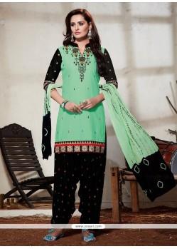 Amusing Cotton Punjabi Suit