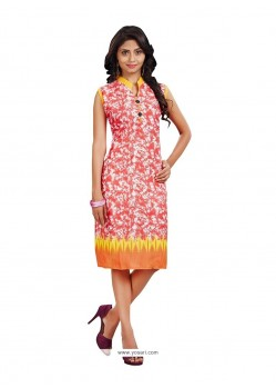 Lovely Cotton Casual Kurti